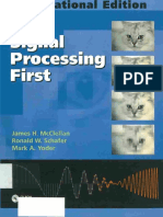 Book - McCllelan - Signal Processing First 2003