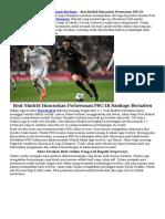 Real Madrid Hancurkan Perlawanan PSG Di Santiago Bernabeu