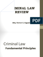 Esguerra Updated Criminal Law I - Bar Review 2016