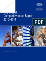 WEF Global Competitiveness Report 2010-11