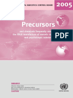 UNODC Report on Precursors