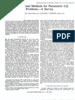 Computational Methods for Parametric LQ Problems