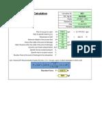 PSV Reation Force - Two Phase - Assumption Close Sytem