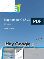 Rapport CES 2018 Olivier Ezratty