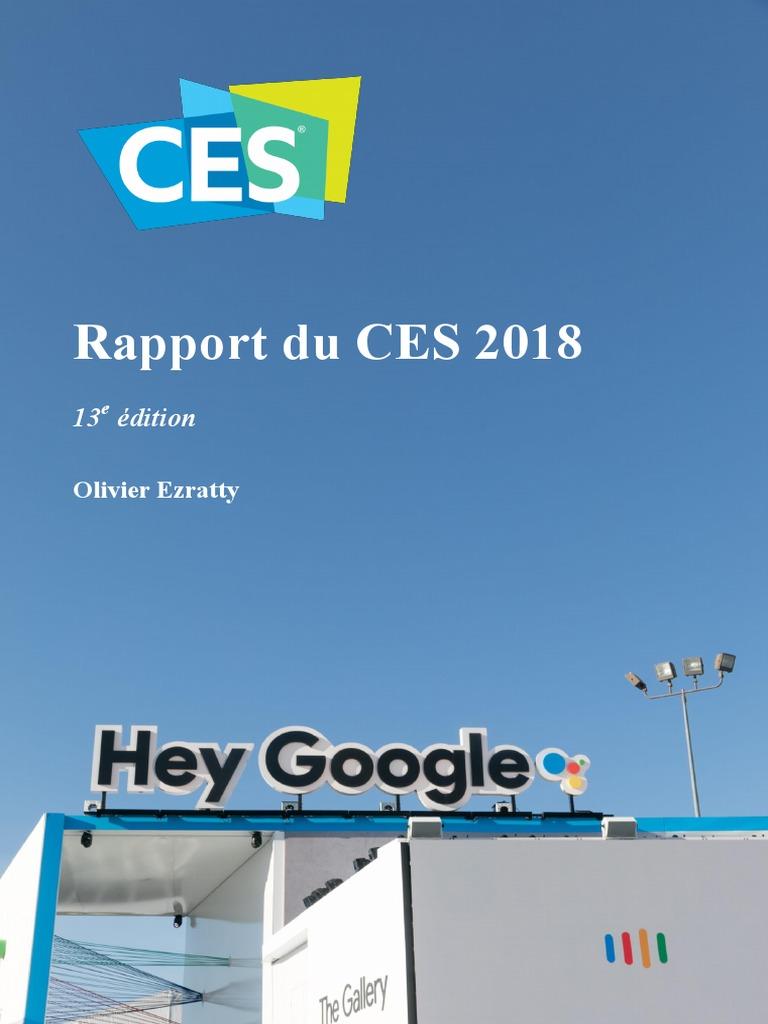 premium selection 19c86 b2972 Rapport CES 2018 Olivier Ezratty