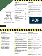 P1000 P1500 Podium User Guide