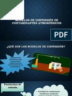 Modelos de Dispersión