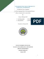 Revisi Makalah 1 Kelompok 1 Biologi Off G 2017 Wawasan Lingkungan Dan Masalah Lingkungan