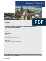 Protection of power systems with Distributed generation:state of art