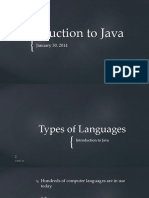 1-4 Introduction to JAVA