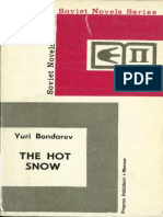 The Hot Snow - Yuri Bondarev