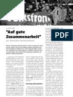 """""""Auf gute Zusammenarbeit"""" - Das """"Aktionsbüro Westdeutschland"""" LOTTA #22"""