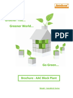 AutoBrick- AAC Block Plant Catalog