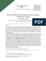 Radioecology and Monitoring