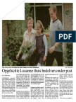 Post voor Lusanne
