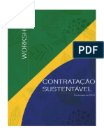 Workshop Contratacao Sustentavel