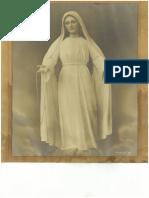 Vintage Photo-Poster of Mama Mary Mediatrix