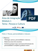 Módulo 1-Tema 1(Pessoa e Cultura)