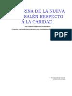 Swedenborg - Doctrina de la Caridad