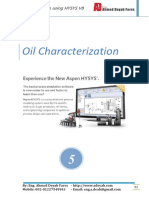Oil Characteristics