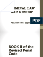 Esguerra Updated Criminal Law II - Bar Review 2016