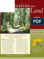 Wood River Land Trust Newsletter Fall 2007