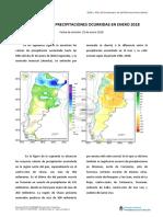 Informe smn precipitaciones Ene2018