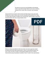 Gastroenteritis Adalah Infeksi Pada Usus Atau Perut Yang Disebabkan Oleh Beberapa Jenis Virus Dan Bakteri