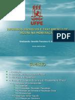 Recursos Hídricos e Tratamento de Águas Na Mineração