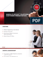 IP Office Platform Customer Presentation R11