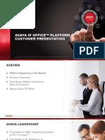 IP Office Platform Customer Presentation R11