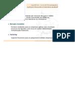 Cap 26 - Fontes de Financiamento e Aplicações Financeiras a Curto Prazo