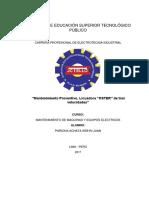 Informe N°1 - mantenimiento