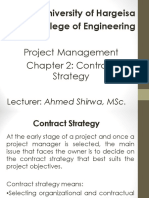 Ch2- Contract Strategy