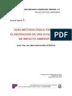 Ficha Nº 17 Guía Metodológica Para La Elaboración de Una EIA