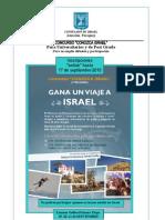 Concurso Conozca Israel Septiembre 2010