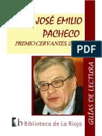 JOSÉ EMILIO PACHECO- PREMIO CERVANTES, 2009