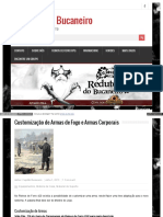 Customização de Armas de Fogo e Armas Corporais