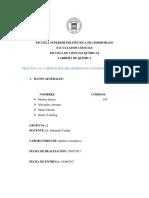 24.OBTENCION DE HIDROGENO (Zn + HCl)