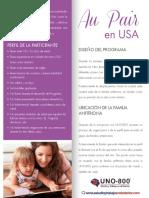 PDF Informacion Au Pair USA 2016