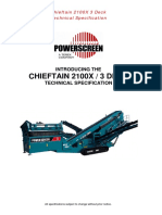 Ficha Tecnica Chieftain 2100x 3 Deck Track