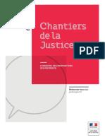 Chantiers de la Justice