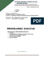 Program Izradnja Odrz i Upr Put Infrastuk
