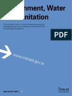 Environmental Key Sheet 11 Water Sanitation