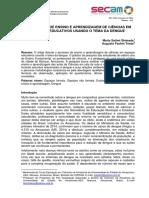 Dengue2014_o Processo de Ensino e Aprendizagem de Ciências