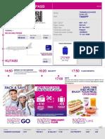 BoardingCard 153401563 MXP KUT