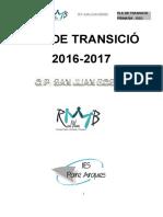 Pla de Transició 2016-17