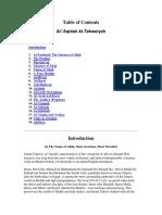 Aqida at Tahwiyyah in English