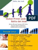 Asuhan Primer Pada Bayi Balita Dan Anak