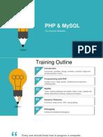 PHP MySQL Training v1